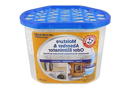 Arm & Hammer Absorber 14oz Tub, Pack - & Freshens Air Closets, Laundry rooms, Mud Rooms,