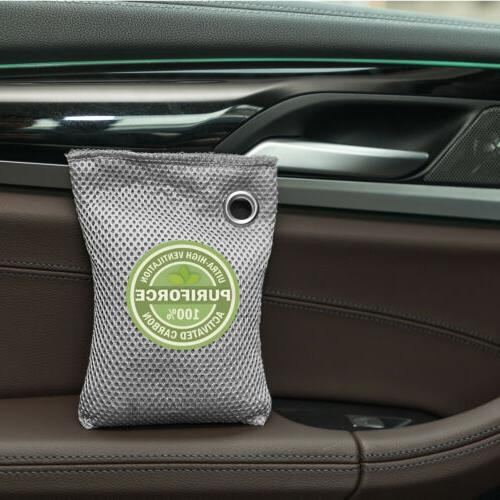 4 Air purifying bags Absorption Effeiciency