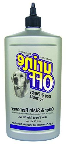 Urine Off Odor and Stain Remover for Dog and Puppy, 16-Ounce
