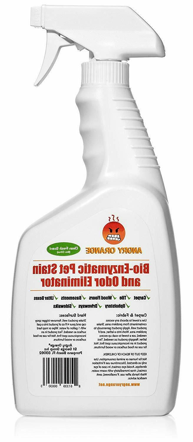 Angry Pet Odor Eliminator and Enzyme