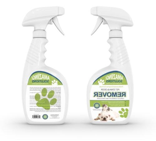 Amaziing Solutions Eliminator Carpet Urine and Cat Pee, Professional Strength and