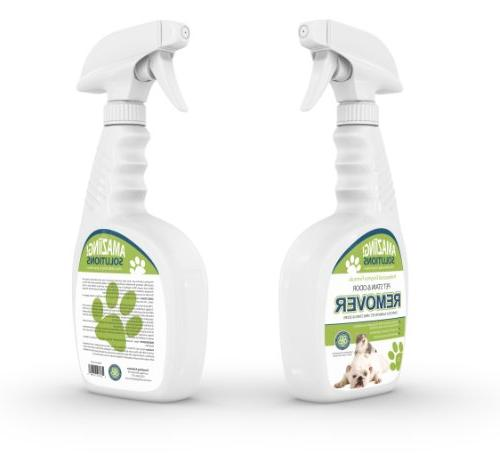 Amaziing Pet Odor Eliminator and Urine and Professional Strength Enzymatic Natural Enzymes for and Hardwood Floors