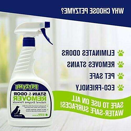 pet stain remover odor eliminator enzyme cleaner