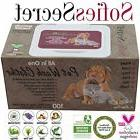 SofiesSecret XL PET WIPES for Dogs+Cats All in One Grooming,