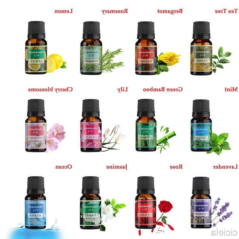 Various Essential Oil Fragrances Body Massage Therapeutic Ar