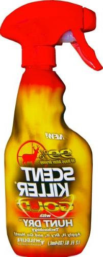 Wildlife Research Scent Killer Gold Clothing and Boot Spray,