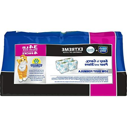 Fresh Step Scented Litter with Litter,