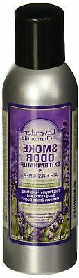 Smoke Odor Exterminator 7oz Large Spray, Lavender with Chamo
