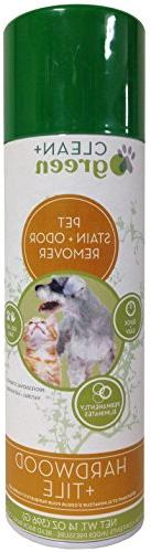 Clean+Green Professional Strength Hardwood and Tile Pet Odor