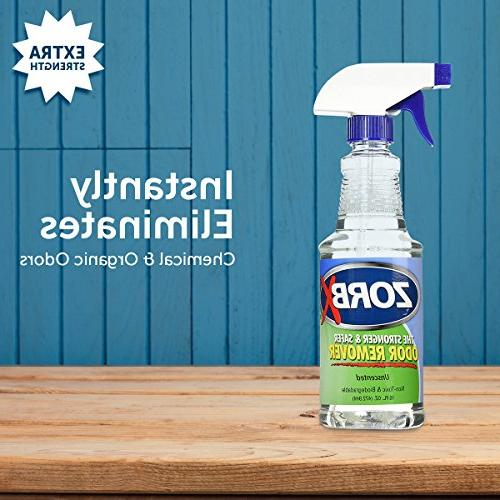 ZORBX Unscented Multipurpose Remover All, Even Children, Chemicals, Perfumes or Stronger Safer Odor Remover Works