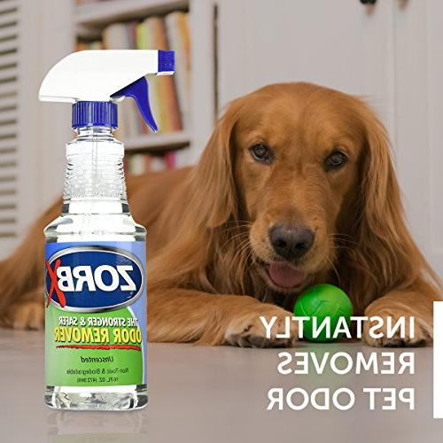 ZORBX Unscented Odor Even Chemicals, Perfumes Stronger Remover Works Instantly