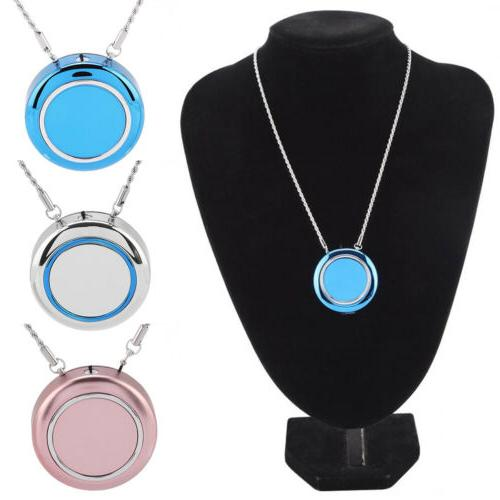 Wearable Necklace Air Portable Negative Ion Odor Eliminator