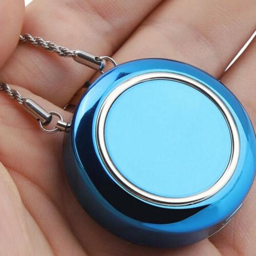 Wearable Necklace Portable Negative Ion Generator Odor