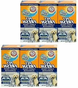 Lot of 6 Arm & Hammer Pet Fresh Carpet Odor Eliminator 18oz