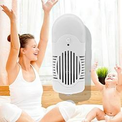 Whitelotous Mini Plug-in Air Purifier Anion with LED Air Fre