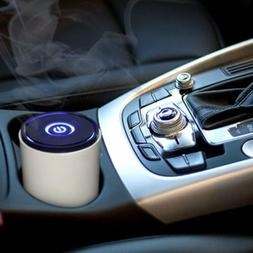 Mini USB Car Air Purifier Ionizer Odor Eliminator Home Offic