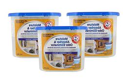 Arm & Hammer Moisture Absorber & Odor Eliminator 14oz Tub, 3