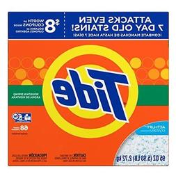 Tide Mountain Spring HE Turbo Powder Laundry Detergent, 68 L