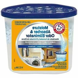 NEW - Arm & Hammer Moisture Absorber & Odor Eliminator, 14oz