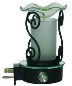 Night Light Aroma Plug in Oil Warmer with free fragrance Oil