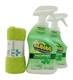 Odoban Disinfectant Odor Eliminator 27 Fl oz Pack of 2, Micr