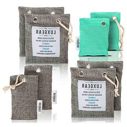 8 Pack - Odor Absorber Bag - Bamboo Activated Carbon - Air F