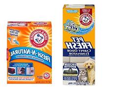 Arm & Hammer Odor Eliminators Pet Fresh Plus Oxi Clean Dirt