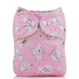 Baby One Size Adjustable Cloth Diapers Cover Reusable Washab