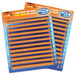 Sani Sticks Orange Scent - Keep Your Drains Clear and Odor-F