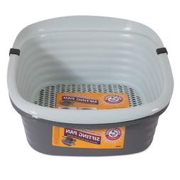 Pet Mate 42036 Arm & Hammer Large Sifting Litter Pan, Fast S