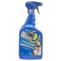 Pet Odor Eliminator for Dog and Cat Urine, Makes 1 Gallon of