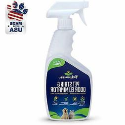 Pet Odor Eliminator Organic Stain Remover Fortified Naturall