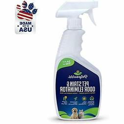Pet Odor Eliminator - Organic Stain Remover Fortified Natura