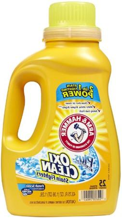 Arm & Hammer Plus the Power of OxiClean Stain Fighters Fresh