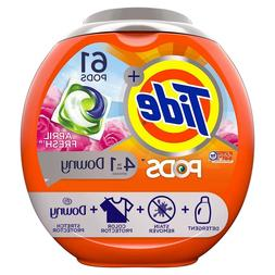 Tide PODS Plus Downy 4 in 1 HE Turbo Laundry Detergent Pacs,