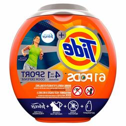Tide PODS Plus Febreze Odor Defense Laundry Detergent Pacs,