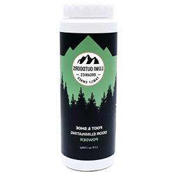 Natural Powder Shoe and Foot Odor Eliminator and Deodorizer,