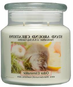 Premium 100% Soy Apothecary Candle - 16 oz Double Wicked- Od