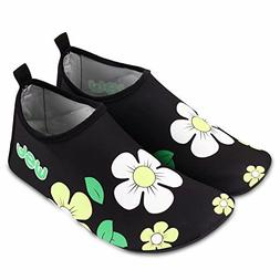 Wonfun Quick Dry Water Shoes for Men Women and Kids Barefoot