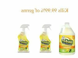 OdoBan Ready-to-Use 32oz Spray Bottle 2-Pack and 1 Gal Conce