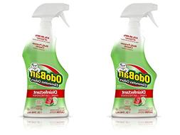 OdoBan Ready-to-Use 32oz Spray Bottle 2-Pack, Cucumber Melon