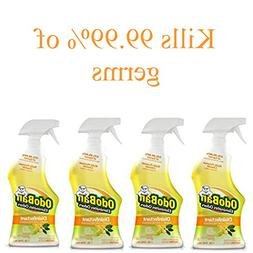 OdoBan Ready-to-Use 32oz Spray Bottle 4-Pack, Citrus Scent -
