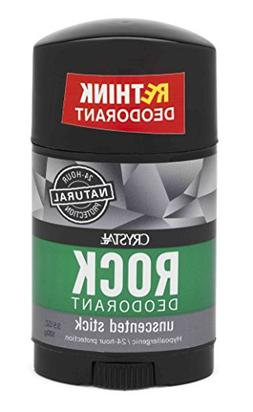 French Transit CRYSTAL Rock Mineral Deodorant Stick for Men,