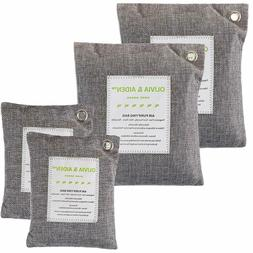 Room Air Purifying Bag Moisture Absorber Charcoal Bamboo Odo