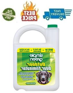 SIMPLE GREEN 128 oz. Outdoor Odor Eliminator for Pets, Dogs,