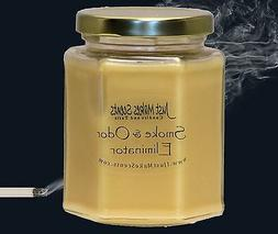 Smoke & Odor Eliminator Blended Soy Candle by Just Makes Sce