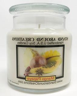Premium 100% All Natural Soy Apothecary Candle - 16 oz. -Man