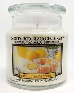 Stand Around Creations Premium 100% Soy Apothecary Candle 16