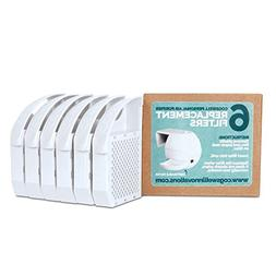 Toilet Air Purifier Replacement Disposable Filters, Pack of