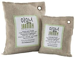 Two  Moso Natural Air Purifying Bags 1-200g and 1-500g